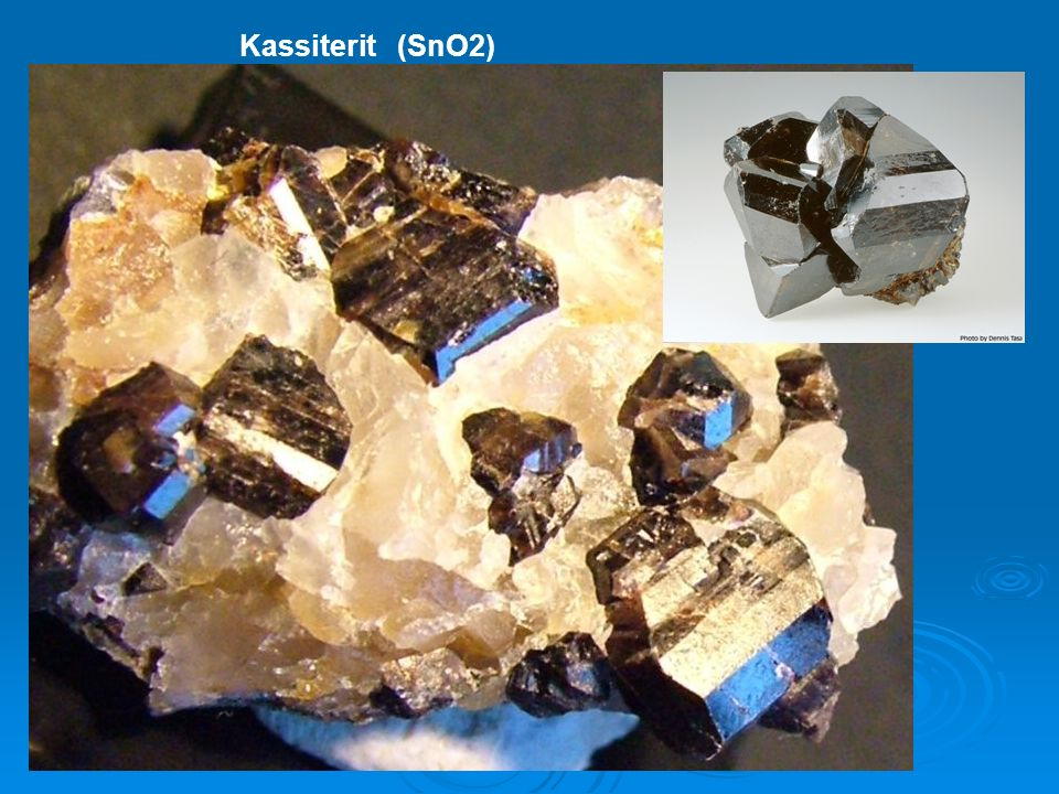 Kassiterit (SnO2)