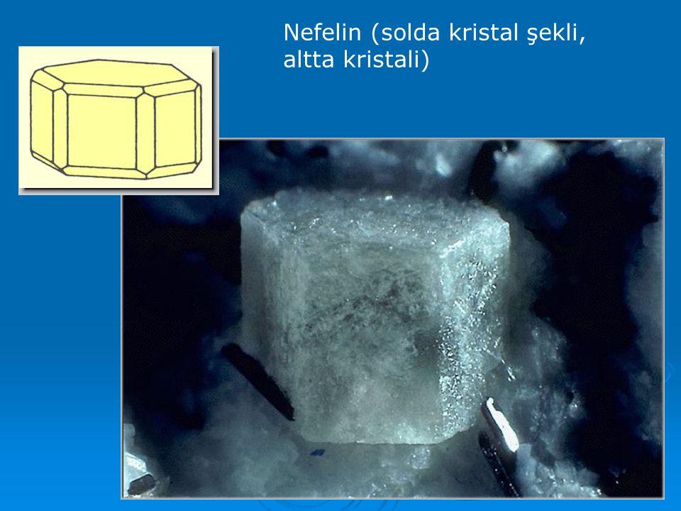  Bunlar da rombusal ve monoklinal sistemde kristallenenler olmak üzere iki gruba ayrılırlar.