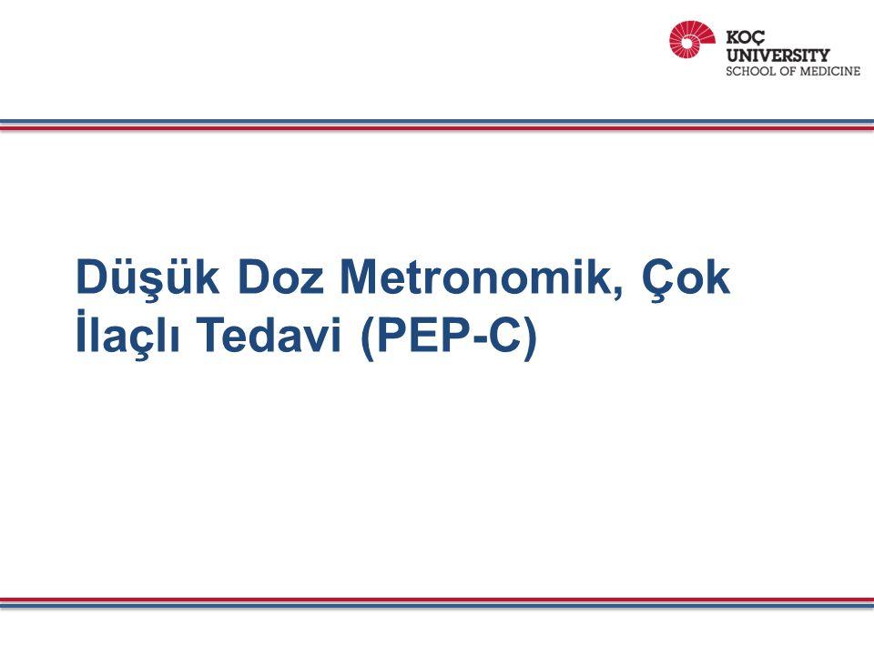 Düşük Doz Metronomik, Çok İlaçlı Tedavi (PEP-C)