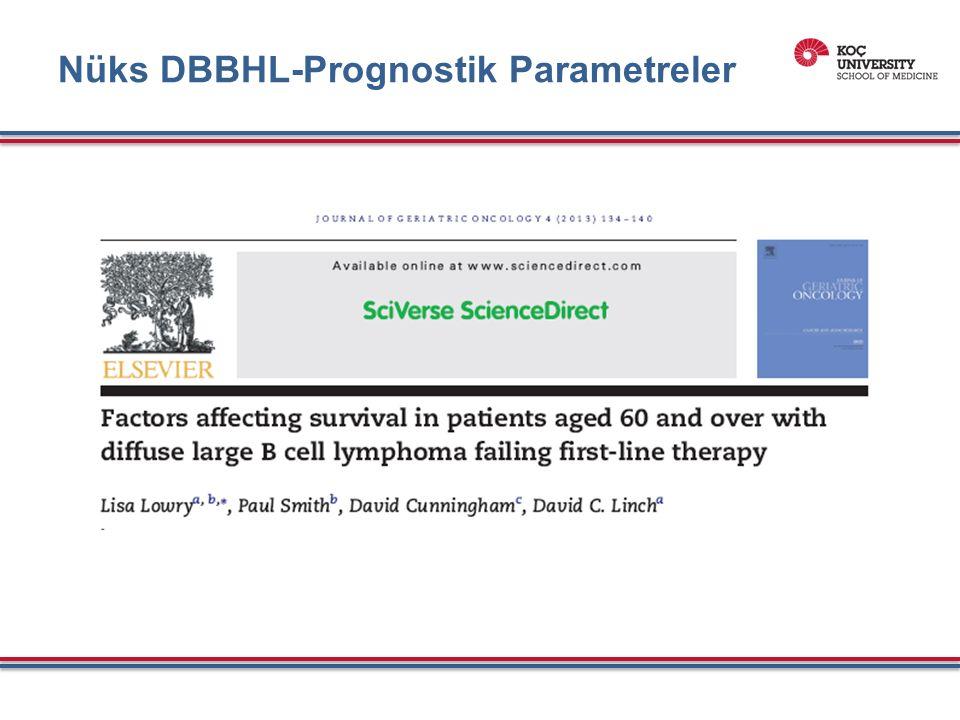 GCB ve Non-GCB altgruplarında lenalidemide monoterapi - PFS