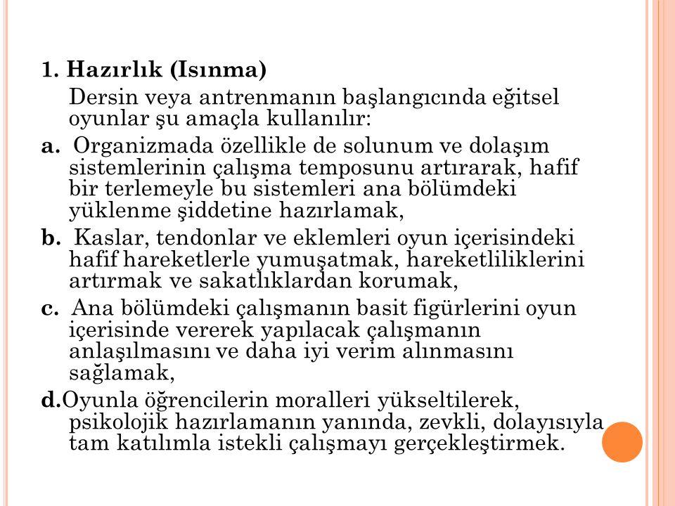 EĞİTSEL OYUNLARIN OYNATILMASINDA DİSİPLİN, CEZA VE ÖDÜL 1.