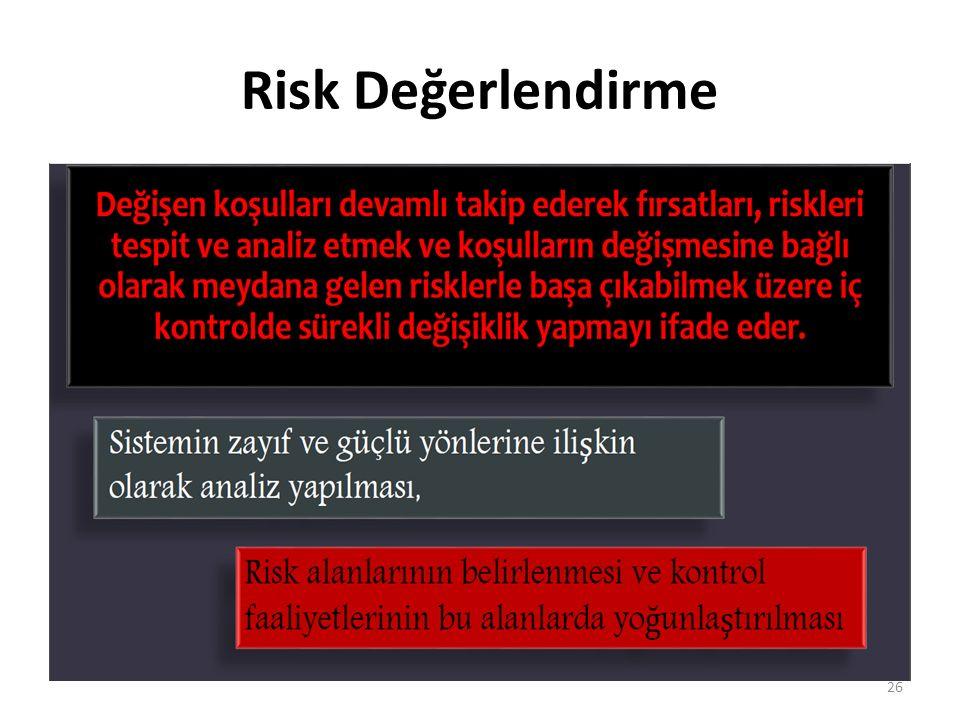 Risk Değerlendirme 26