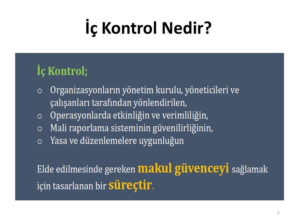 İç Kontrol Nedir? 3