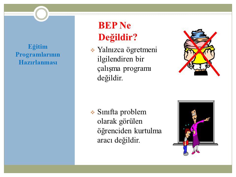 Eğitim Programlarının Hazırlanması Kısa Dönemli Amaçlar Kısa Dönemli Amaçlar (K.D.A) K.D.A.