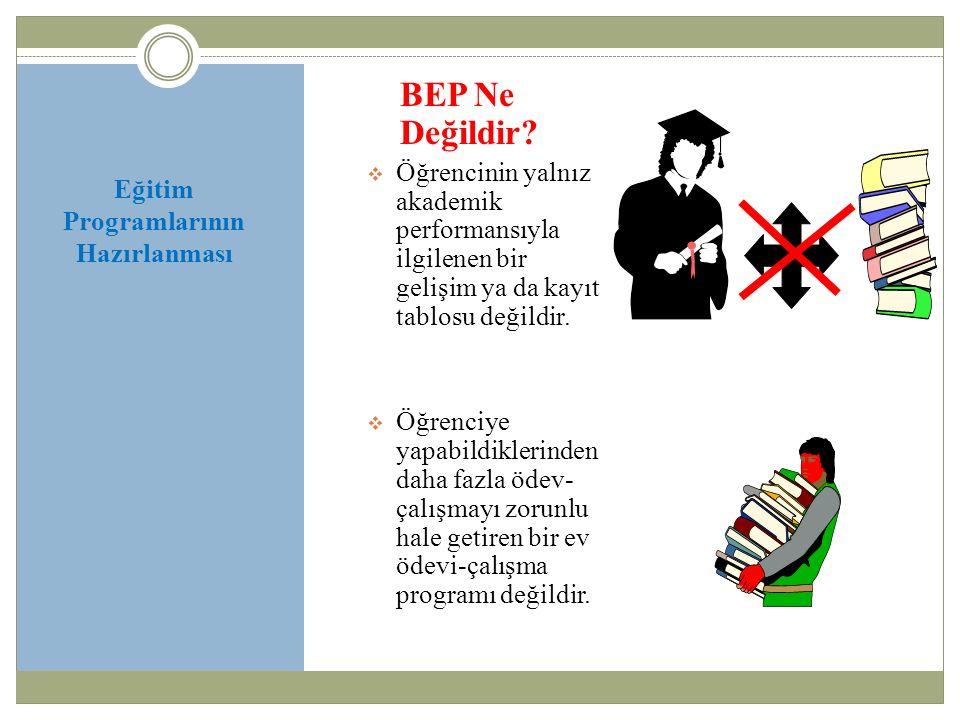 Eğitim Programlarının Hazırlanması BEP Geliştirme Biriminin Görevleri Nelerdir.