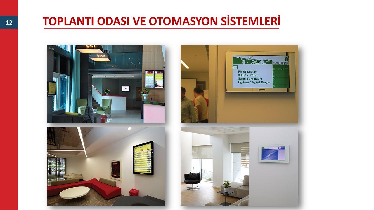 TOPLANTI ODASI VE OTOMASYON SİSTEMLERİ 12