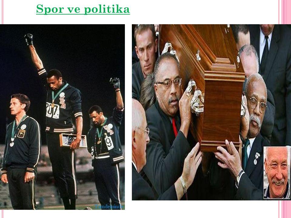 Spor ve politika