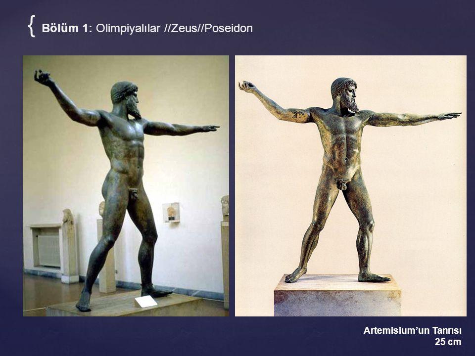 { Bölüm 1: Olimpiyalılar //Zeus//Poseidon Artemisium'un Tanrısı 25 cm