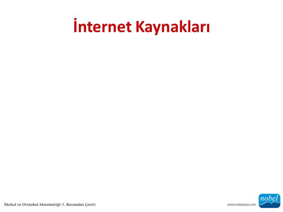 İnternet Kaynakları