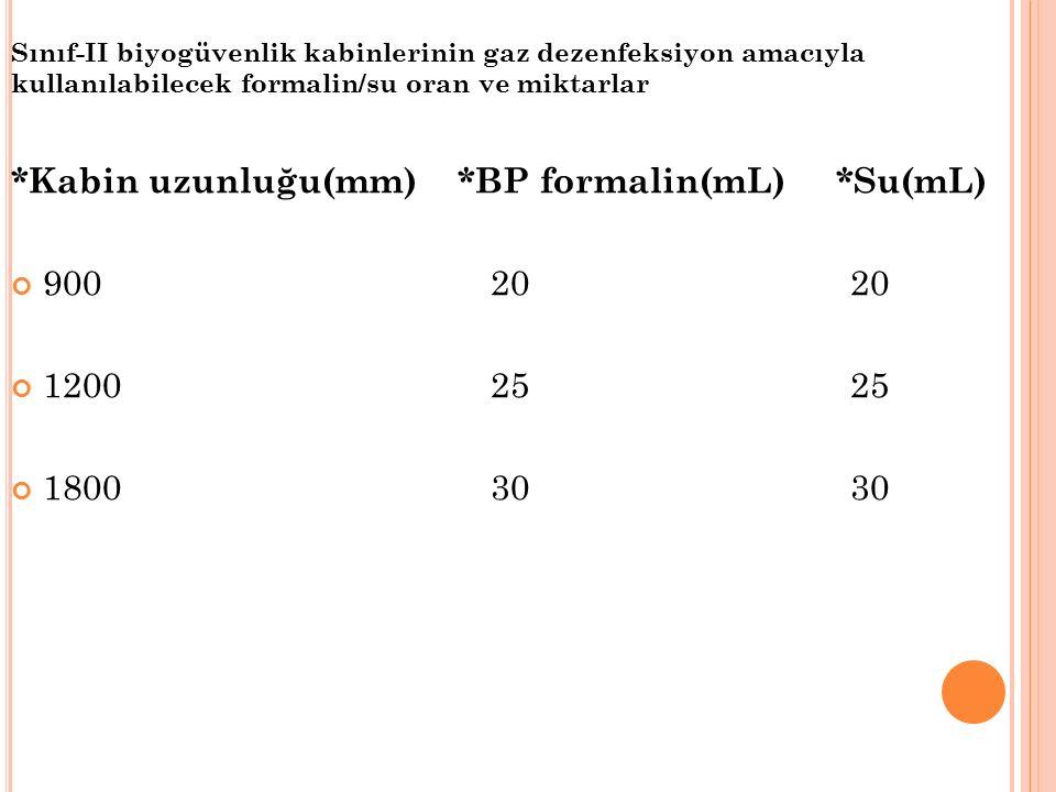 Bir diğer benzer ocak üzerine ise paraformaldehidden %10 daha fazla amonyum bikarbonat içeren kap konur.
