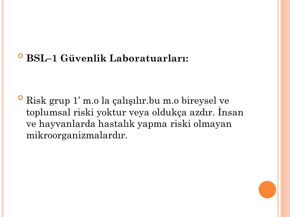 Bu gruptaki laboratuarlar Temel Öğretim Laboratuarları ve Araştırma Laboratuarlarıdır.