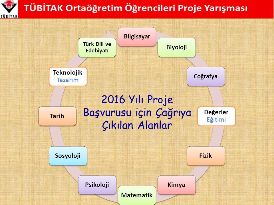 BilgisayarBiyolojiCoğrafya Eğitimi Değerler Eğitimi FizikKimyaMatematikPsikolojiSosyolojiTarih Tasarım Teknolojik Tasarım Türk Dili ve Edebiyatı 2016