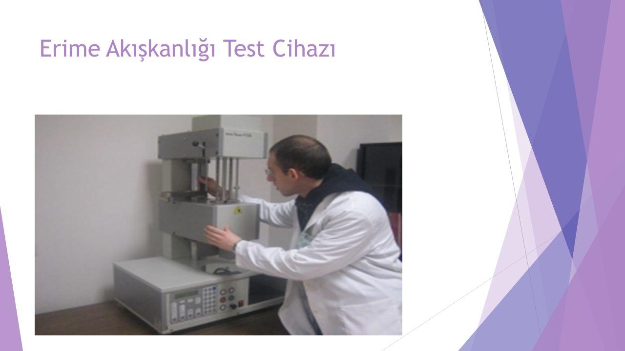 Erime Akışkanlığı Test Cihazı