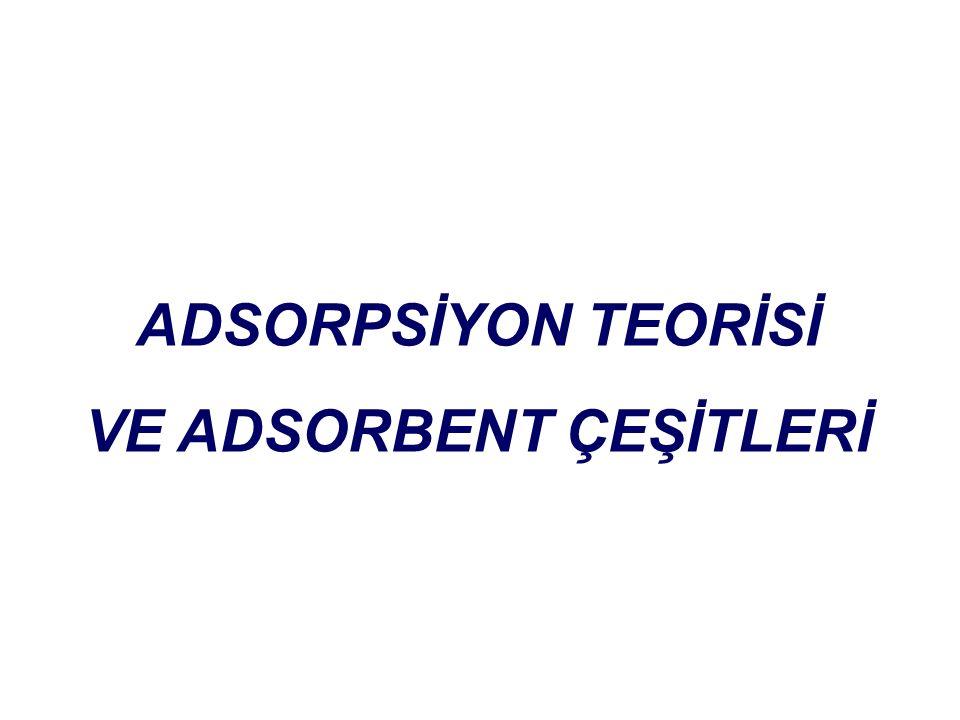 ADSORPSİYON TEORİSİ VE ADSORBENT ÇEŞİTLERİ