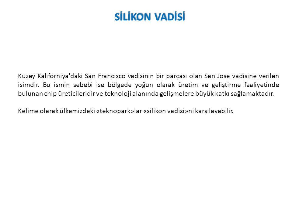 Kuzey Kaliforniya daki San Francisco vadisinin bir parçası olan San Jose vadisine verilen isimdir.