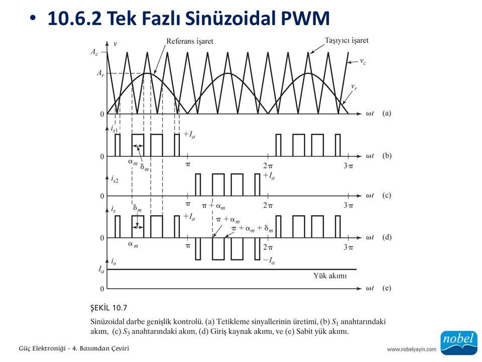 10.6.2 Tek Fazlı Sinüzoidal PWM