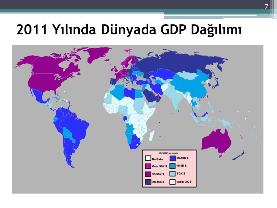 3.Büyüme Ekonomik büyüme: ekonominin üretim kapasitesinin arttırılması ve dolayısıyla daha fazla mal ve hizmet üretilmesidir.