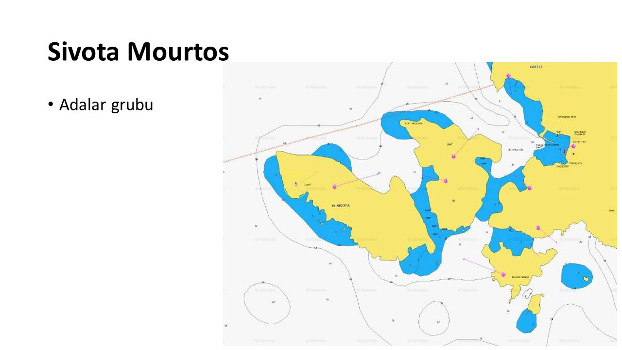 Sivota Mourtos Adalar grubu