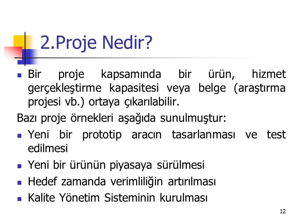 2.Proje Nedir.