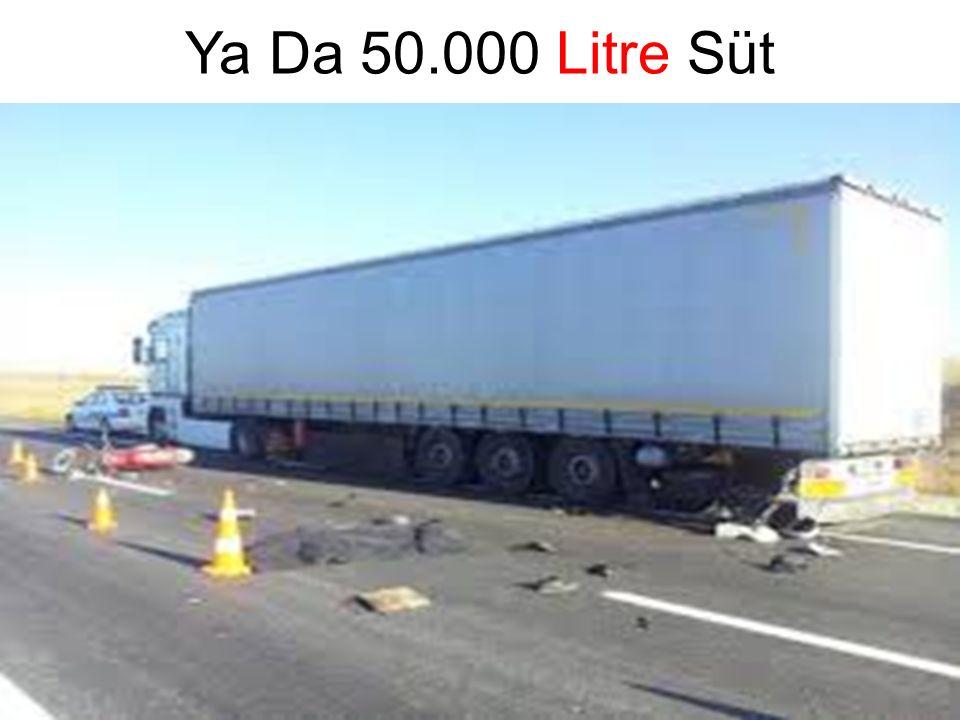 Ya Da 50.000 Litre Süt