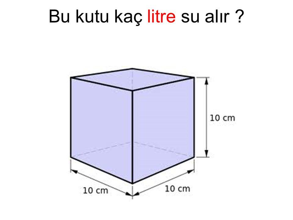 Bu kutu kaç litre su alır ?