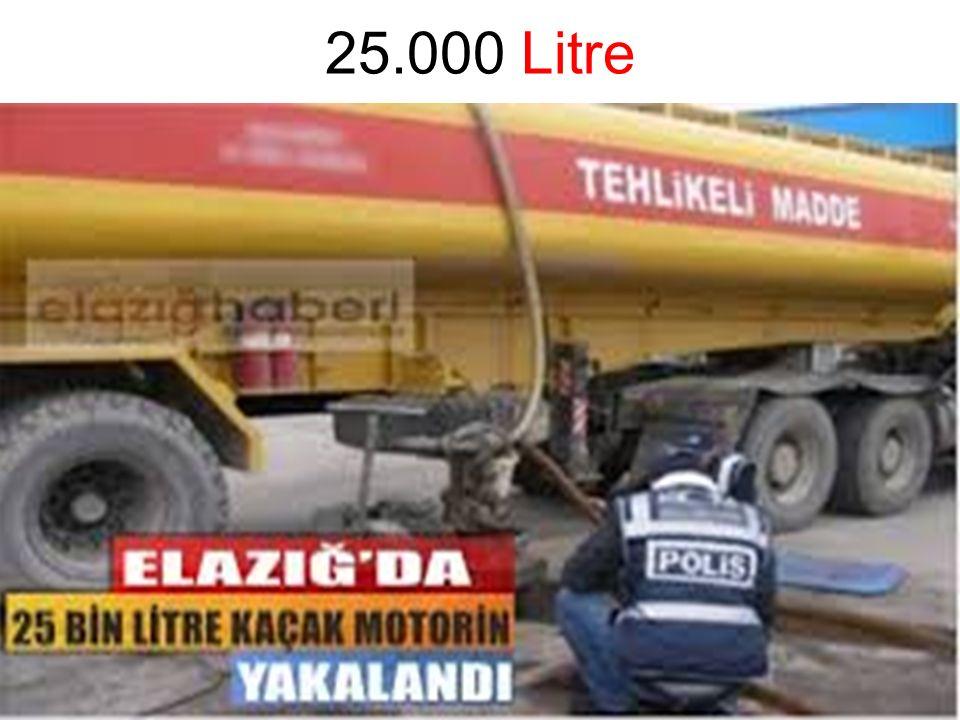 25.000 Litre