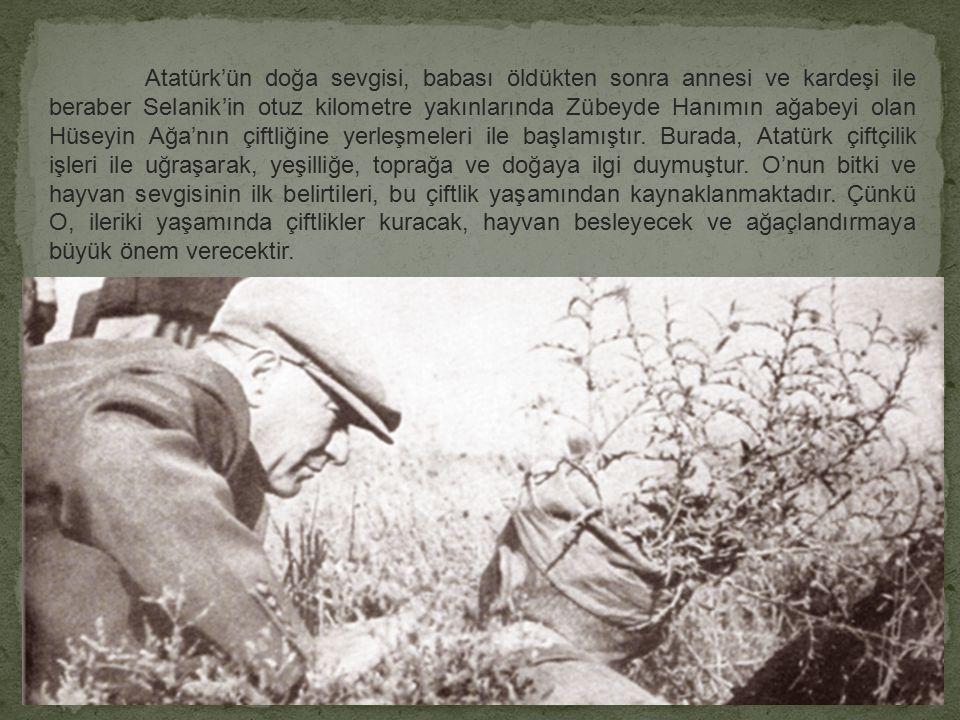 Abdurrahman ERDO Ğ AN 2007-Tekirda ğ cksbilgi.com ATATÜRK VE TARIM