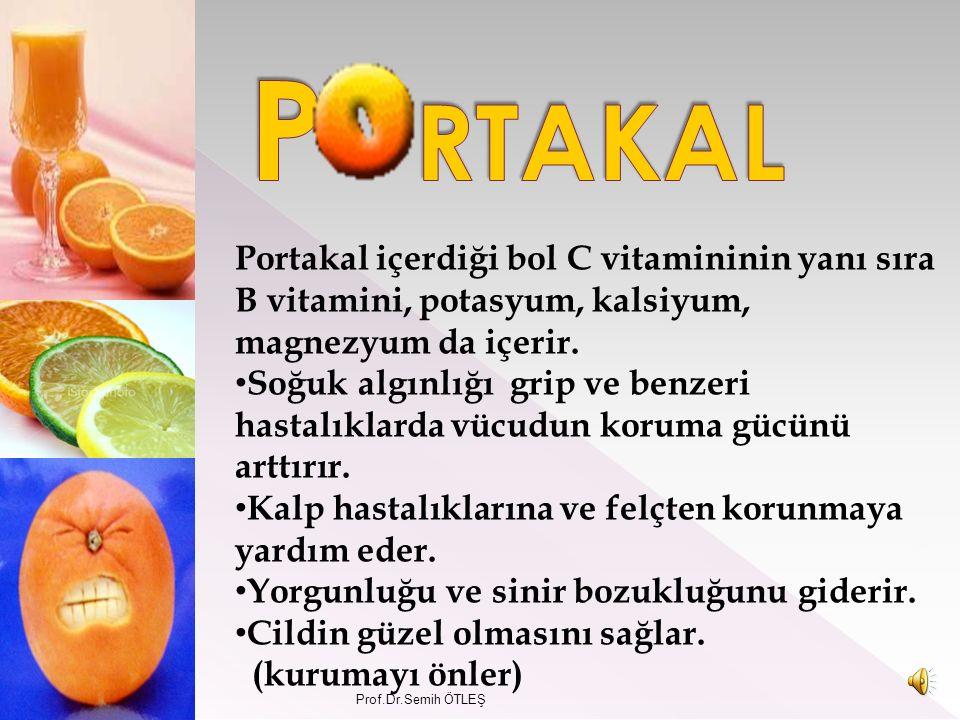 Yüksek miktarda Puro vitamin A, yüz ve cilt sağlığına iyi gelir.