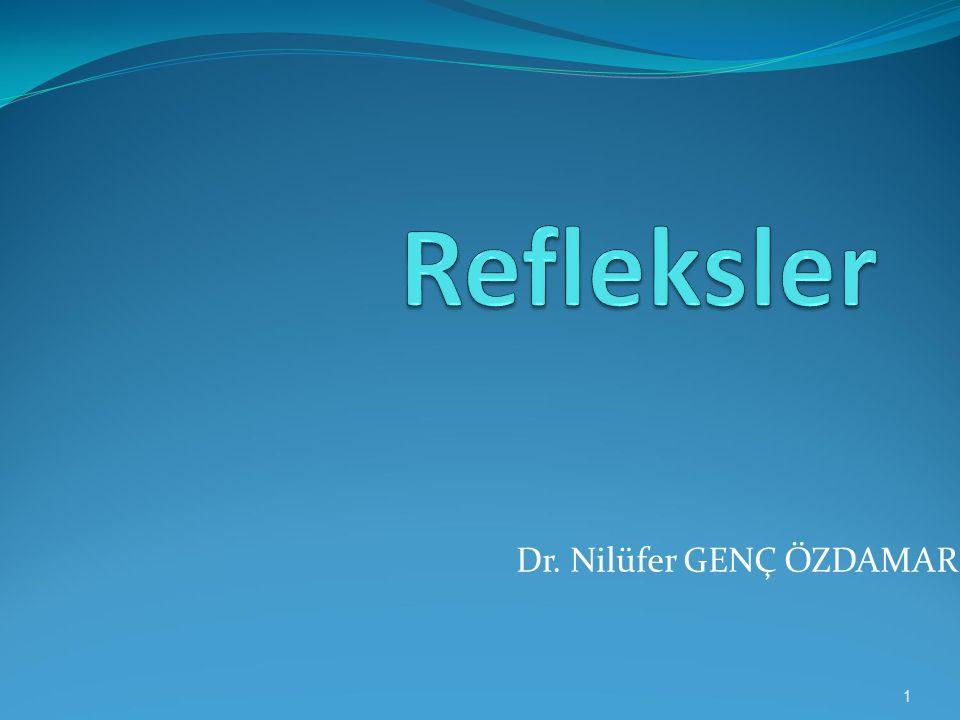 Dr. Nilüfer GENÇ ÖZDAMAR 1