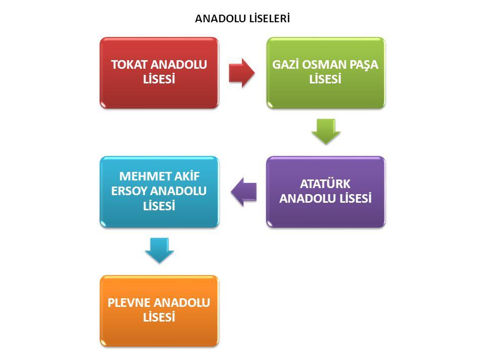 TOKAT ANADOLU LİSESİ