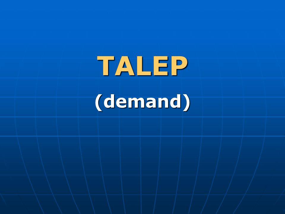 TALEP(demand)