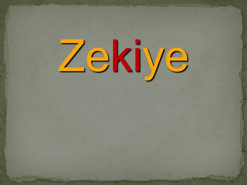 Zekiye