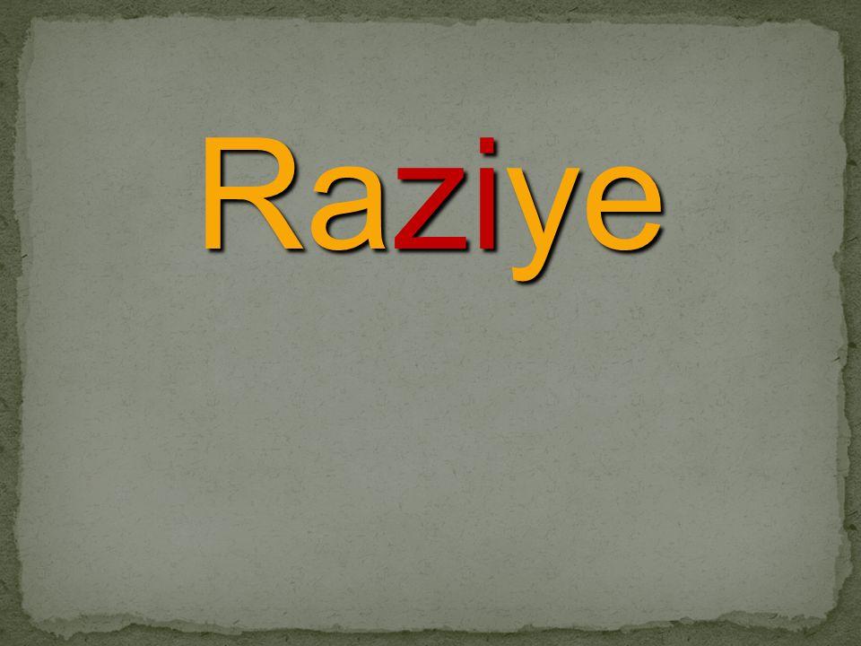 Raziye