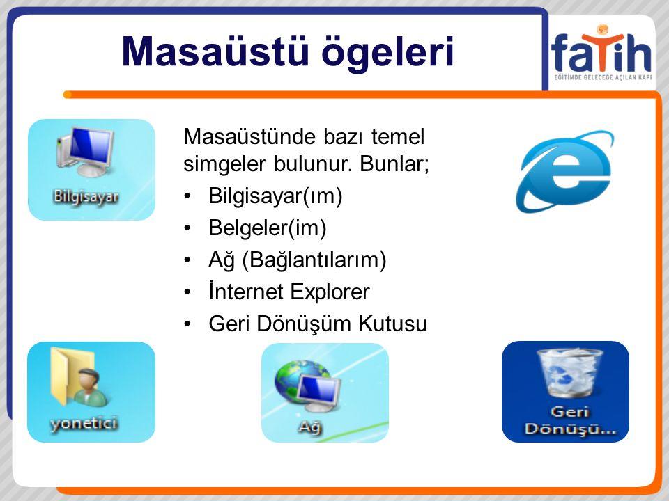 Dosya ve Klasör İşlemleri Klasörler, programlar ve dosyalar için bir kapsayıcıdır, bir çekmeceye benzetebileceğimiz klasörler, bir diskteki program ve belgelerin düzenlenmesine yönelik bir araçtır.