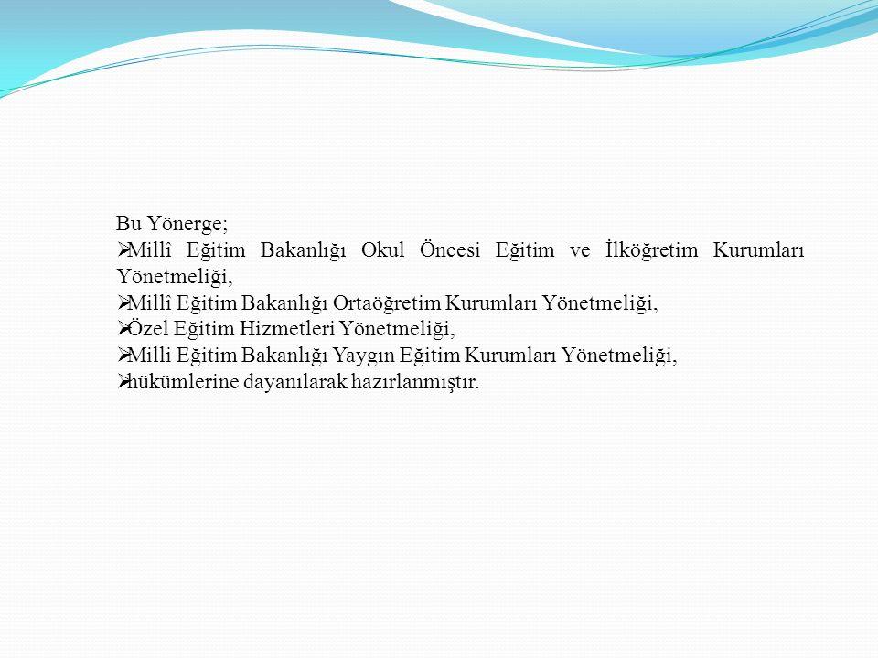2015-2016 ÖĞRETİM YILI DESTEKLEME VE YETİŞTİRME KURSLARI 2.