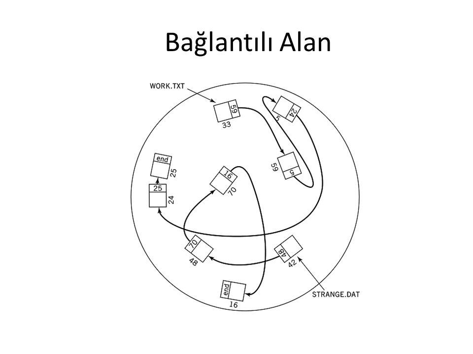 Bağlantılı Alan