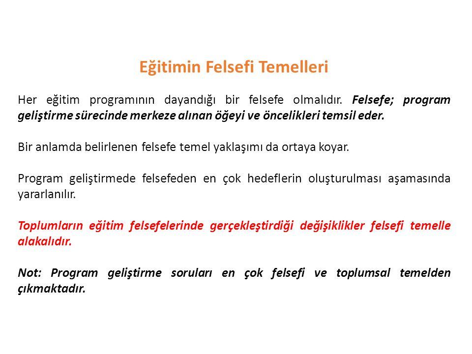 CEVAP: A CEVAP: A Aşağıdakilerden hangisinde öğretmenin rolü daimicilik felsefesine göre belirlenmiştir.