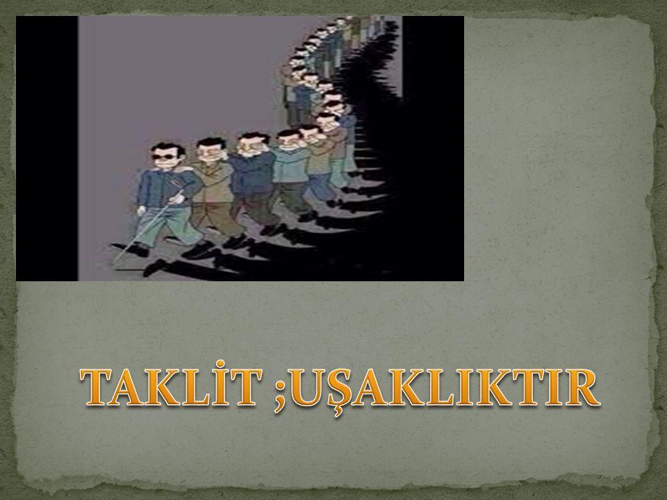 Alıntılar; Yrd. Doç. Dr. Ebubekir Sifil Hoca Rıhle, Ocak-Şubat 2011