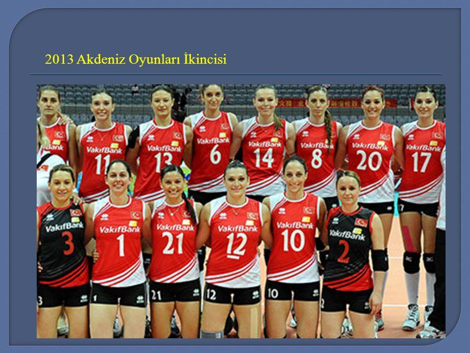 2013 Akdeniz Oyunları İkincisi