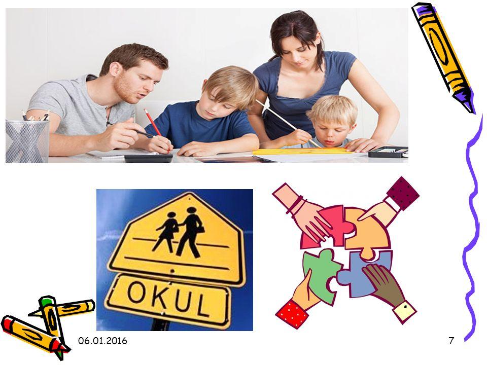 Çocuğun en önemli iki çevresi arasında tutarlılık sağlanır.