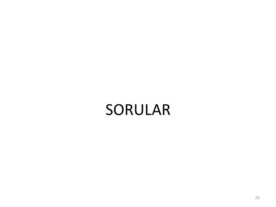 SORULAR 26