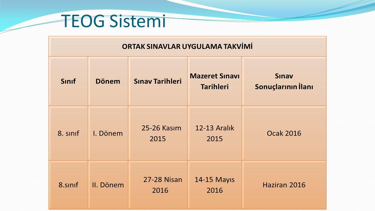 TEOG Sistemi