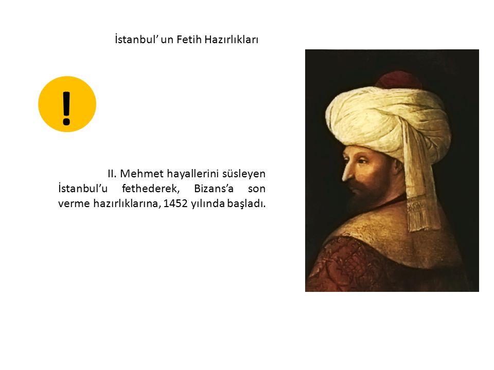 İstanbul' un Fetih Hazırlıkları II.