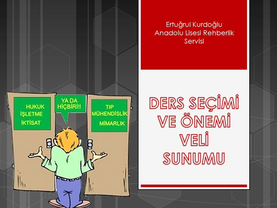 Ertuğrul Kurdoğlu Anadolu Lisesi Rehberlik Servisi
