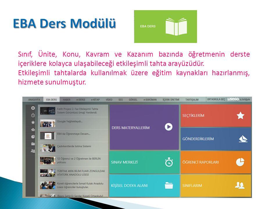www.eba.gov.tr destek@eba.gov.tr Eğitim Bilişim Ağı pilot aşamasında olan sosyal bir eğitim platformudur.