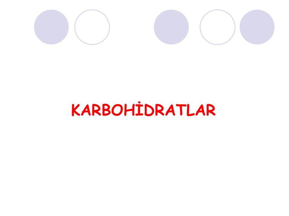 Karbonhidratlar karbonhidrat olmayan yapılara glikozid bağı ile birleşerek kompleks karbonhidratları meydana getirirler.