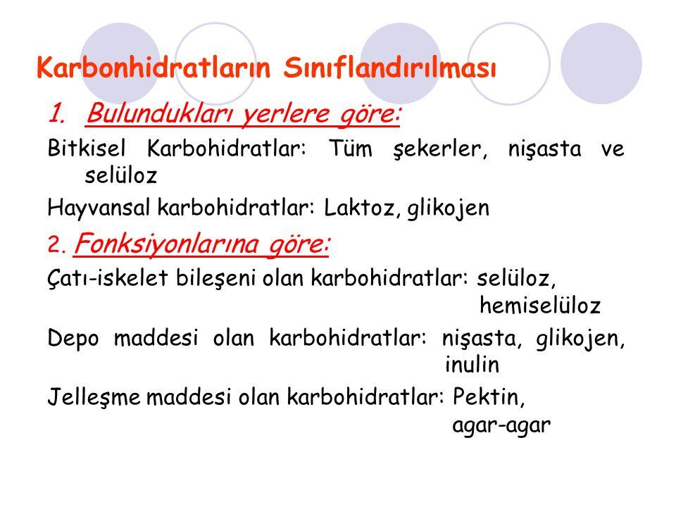 Karbonhidrat metabolizması bozukluklarının sınıflandırılması 1) Emilim bozuklukları 2) Dönüşüm bozuklukları 3) Depolanma bozuklukları 4) Kullanım bozuklukları KARBONHİDRAT METABOLİZMASI BOZUKLUKLARI