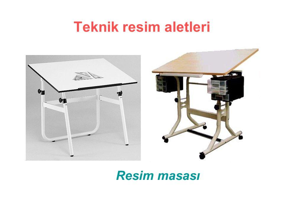 Teknik resim aletleri Resim masası