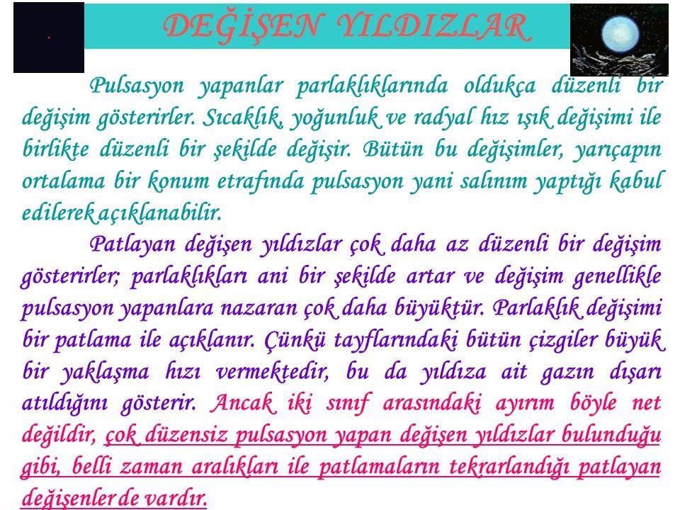 DEĞİŞEN YILDIZLAR TypePrototypeM V (mag.