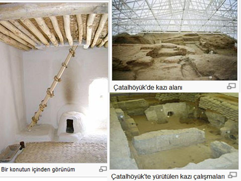 Yeni Taş (Neolitik-Cilalıtaş) Çağı (MÖ 8000 - 5500): Mağara ve kaya sığınaklarında yaşayan insanlar, buzulların erimesiyle ovalara ve su kenarlarına i